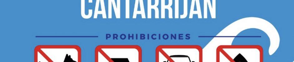 """Cantarriján tendrá nueva cartelería que incluirá su carácter de """"Playa Nudista"""""""