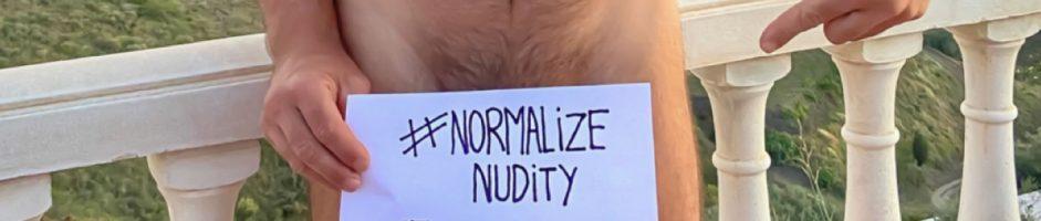 Yo creo (en el) Nudismo