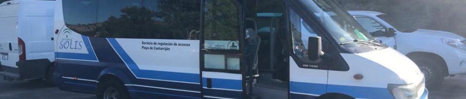 Ya en funcionamiento el Bus Lanzadera de Cantarriján